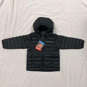 😍3X HP•Columbia Powder Lite Boys Hooded Jacket/2T